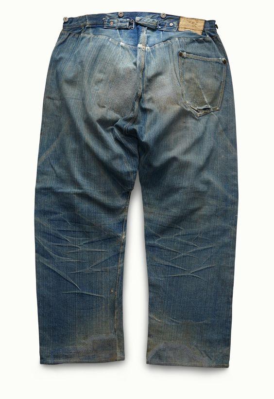 リーバイス501ジーンズ 1890年頃