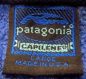 パタゴニアキャプリーン