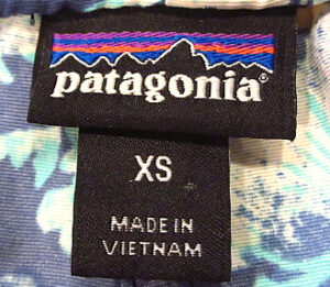 パタゴニア現行タグ