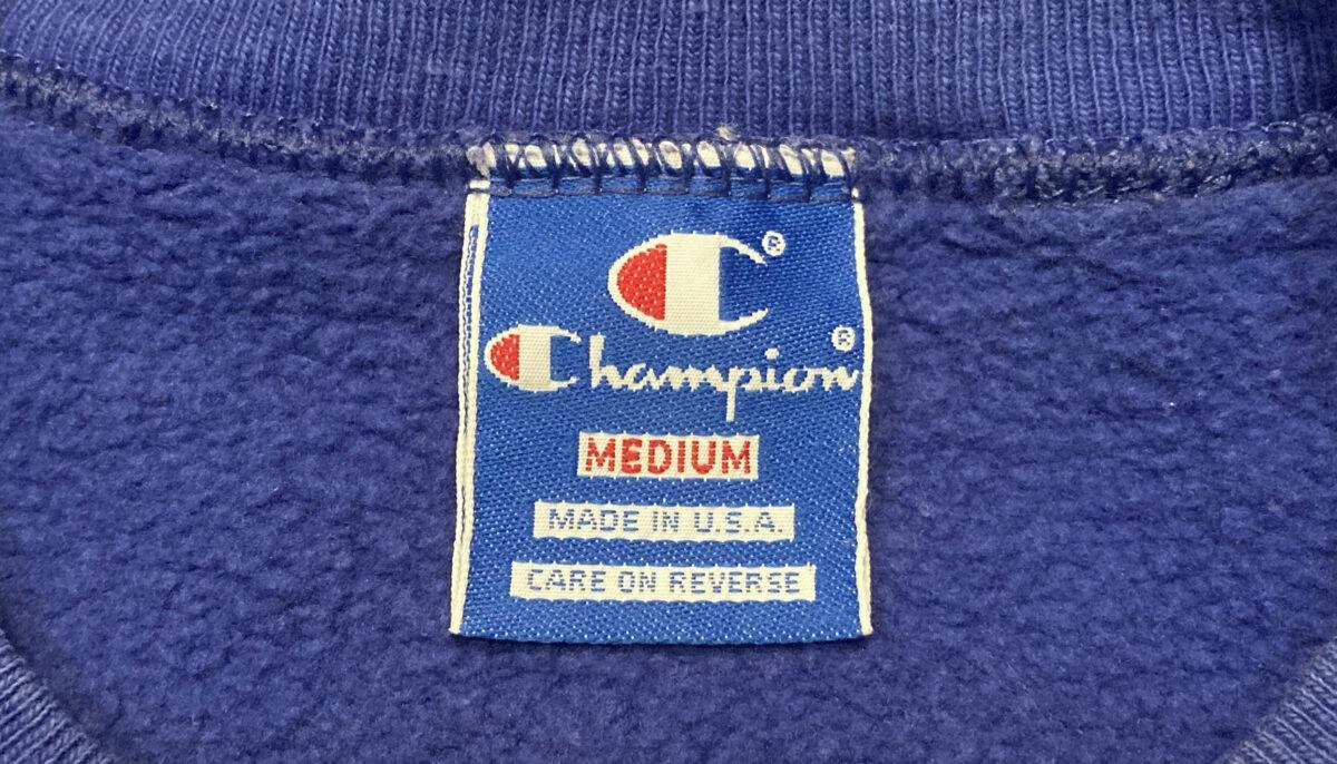 チャンピオン 青刺繍タグ中期