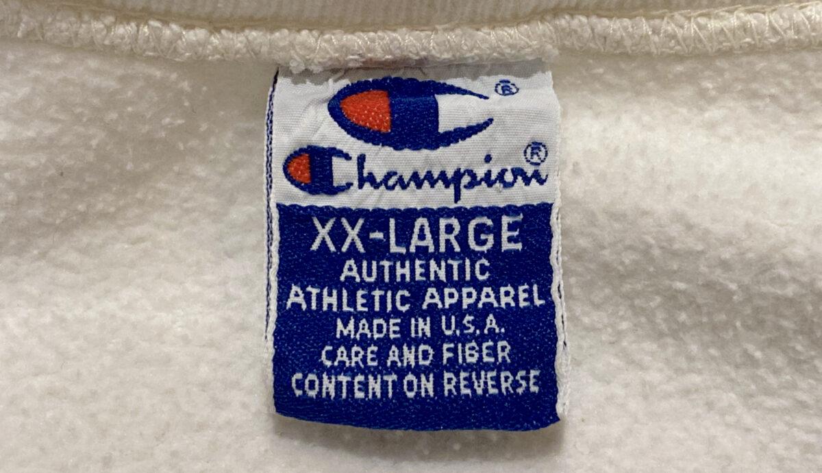 チャンピオン 青刺繍タグ 後期