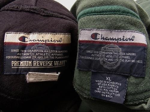 チャンピオン リバースウィーブ2000年代のタグ
