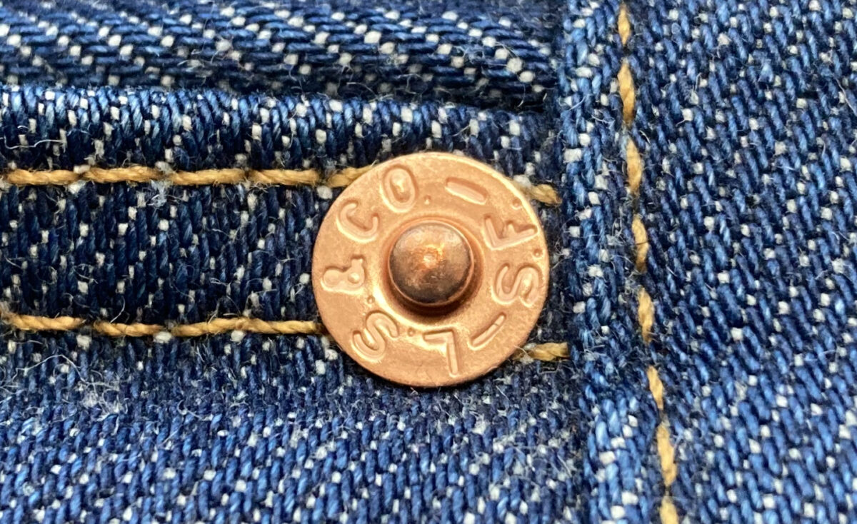 リーバイス501の銅リベット