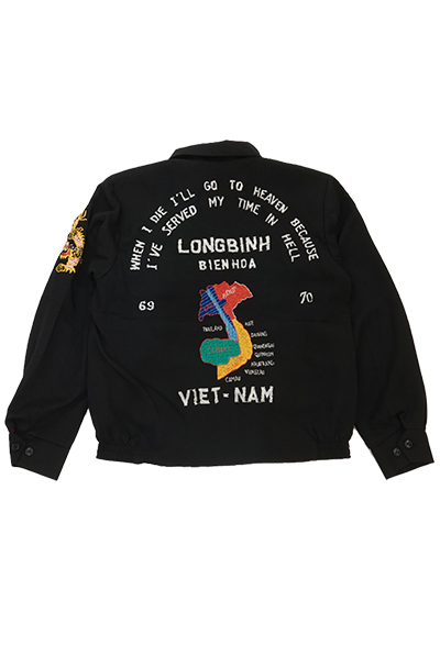 """ドライボーンズ Embroidered Jacket """"福禄寿""""(DJ-1084)"""