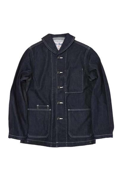 ドライボーンズ Shawl Collar Denim Jacket(DJ-966)