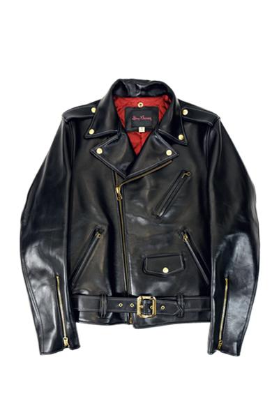 ドライボーンズ Horse Hide Motorcycle Jacket (DL-037)